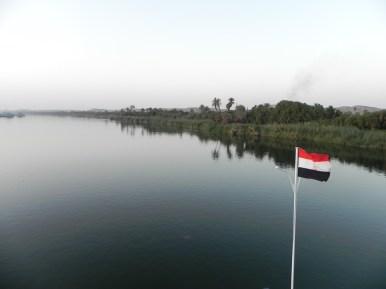 Cruising up the Nile