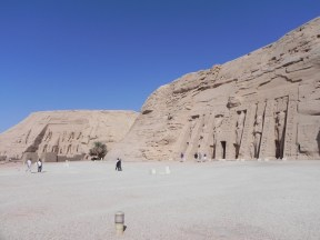 The complex at Abu Simbel