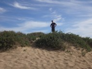 I declare myself king of this dune