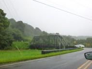 An original one-lane bridge in Hanalei