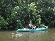 Ann, the power kayaker