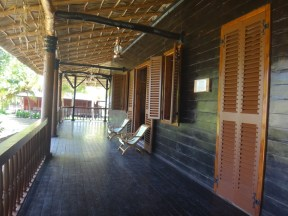 Big ole southern style porch.