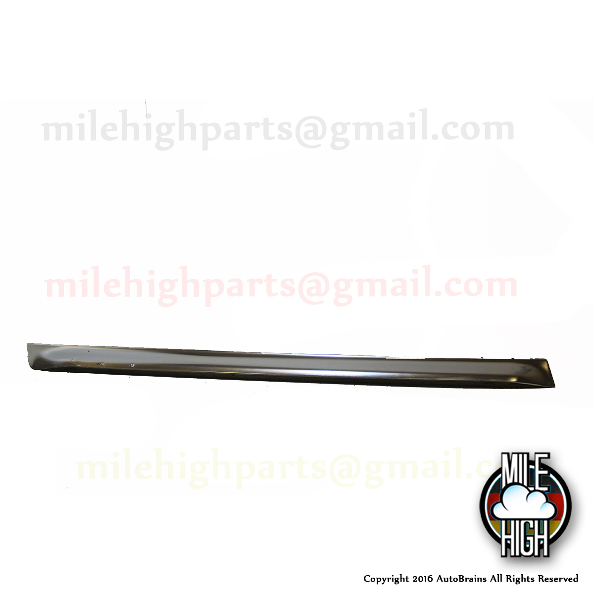 00 04 Audi Allroad Lower Door Trim Blade Panel Lh Driver Front Oem C5 Mile High Parts Used
