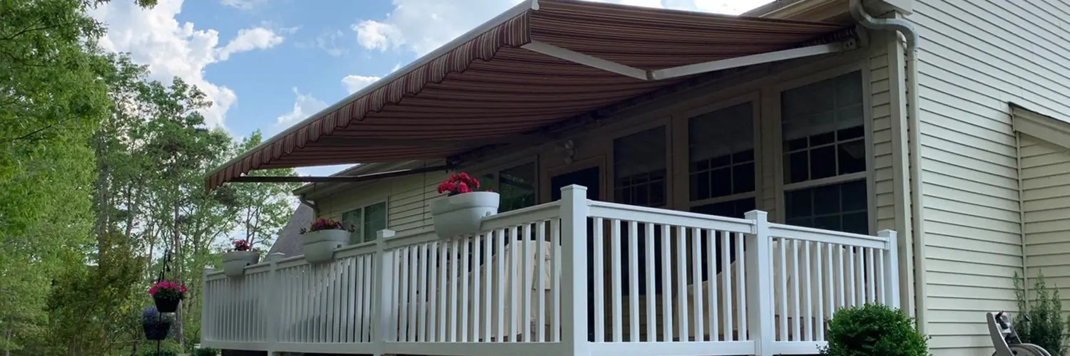 Before buying a new one, consider having a Mile High Shade technician determine if recovering is an option for you and your needs. As long as your system's frame remains intact and functional, awning recovering can make your awning look brand new.