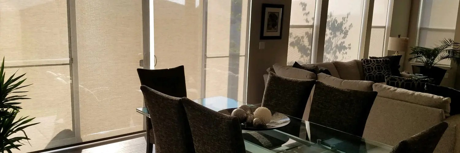 Sales & Installation of Custom Interior Shades or Home & Business in the Denver Area