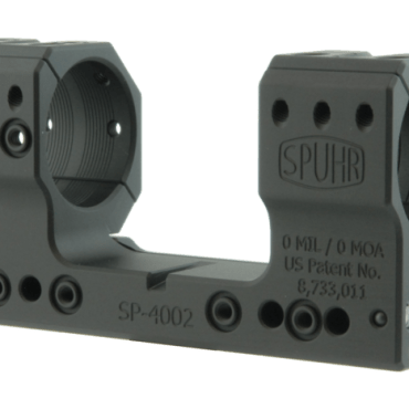 Spuhr SP-4002: 34mm Picatinny Mount 0MIL/0MOA - 1.50""