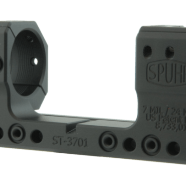 Spuhr ST-3701: TRG 30mm Mount 7MIL/24MOA - 1.378""