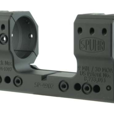 Spuhr SP-4902: 34mm Picatinny Mount 9MIL/30MOA - 1.5""