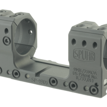Spuhr SP-4901: 34mm Picatinny Mount 9MIL/30MOA - 1.181""