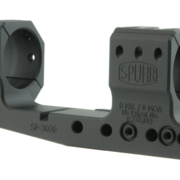 """Spuhr SP-3026: 30mm Picatinny Cantilever(AR) 0MIL/0MOA 1.26"""""""
