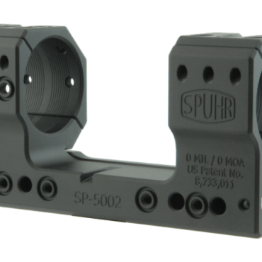 Spuhr SP-5002: 35mm Picatinny Mount 0MIL/0MOA - 1.50""