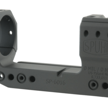 Spuhr SP-6016: 36mm Cantilever Mount 0MIL/0MOA - 1.5""