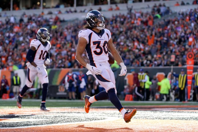 phillip lindsay week 13 rookie review