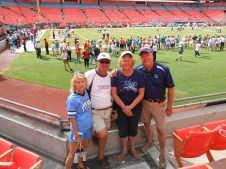 Titans Support Crew visits Miami