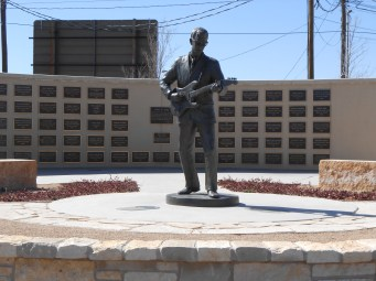 Buddy Holly monument