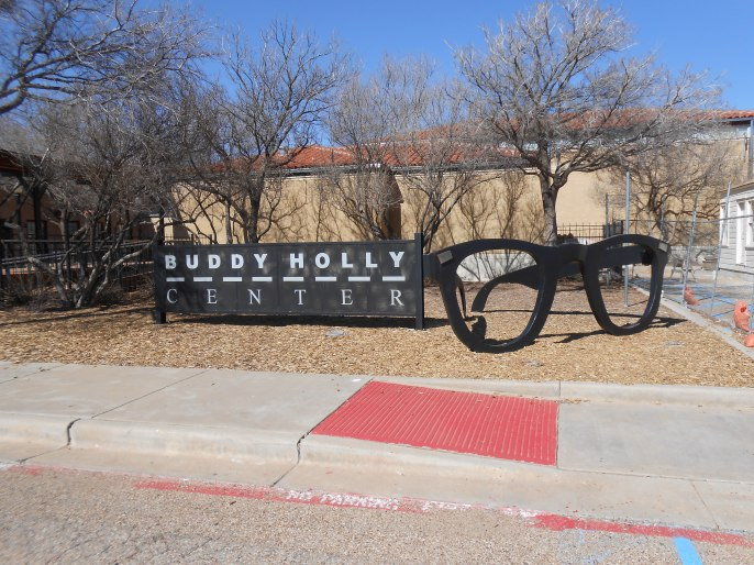 Buddy Holly Museum - glasses