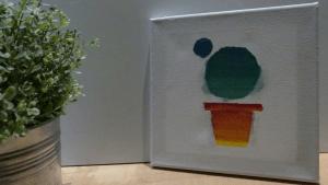 Lee más sobre el artículo Cuadro decorativo de cactus