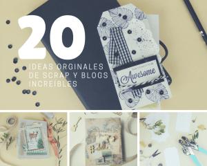 Lee más sobre el artículo 20 ideas de scrapbook y los 20 mejores blogs de scrap