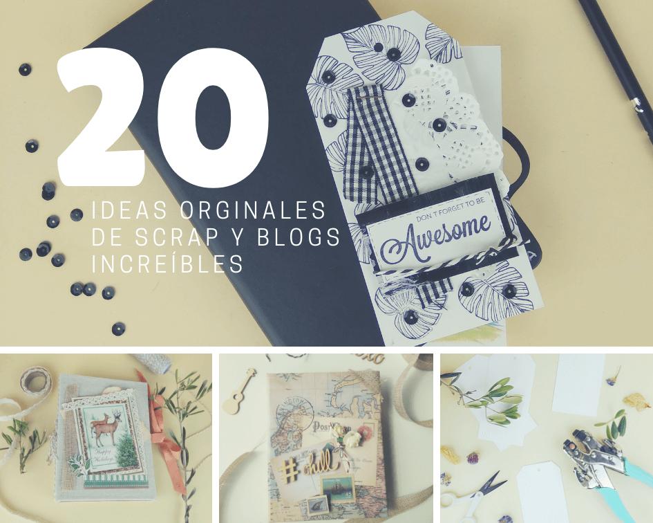 En este momento estás viendo 20 ideas de scrapbook y los 20 mejores blogs de scrap