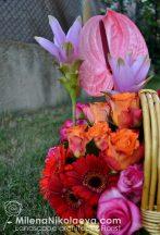 цветна кошница