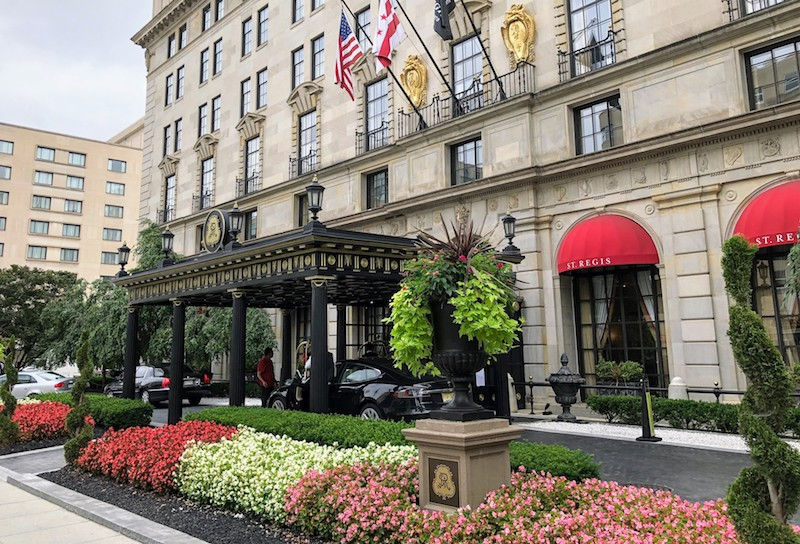 st regis washington dc platinum