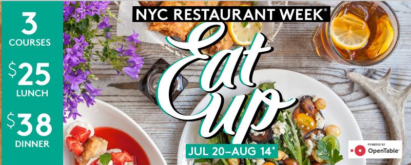 American Express Restaurant Week Offer