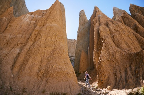 Clay Cliffs, Omarama, Must See, Sightseeing, Neuseeland, Südinsel, super