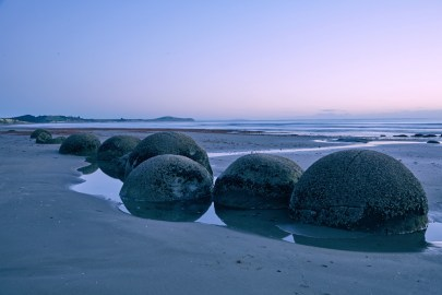 Moearki Boulders, New Zealand, attraction, Neuseeland, Ostküste, Must See, Sightseeing, Sonnenaufgang, Sunrise, wunderschön, Reiseblog, Travelblog, Tips und Tricks