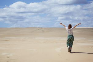 Morimi Nationalpark, Chrisi, Sanddüne, Miles and Shores, Wüste, Australien, Australia, Roadtrip