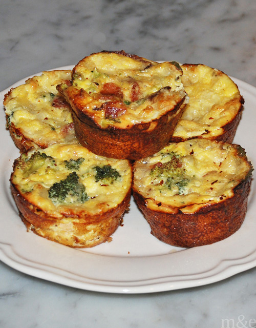 M&E's Egg Muffin Recipe