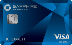 Chase Sapphire Preferred® Card.