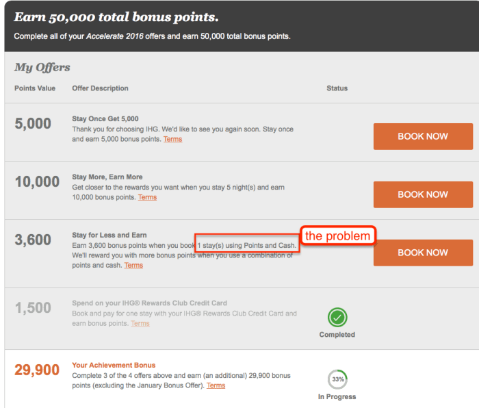 ihg points pluas cash