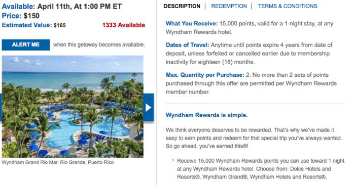 wyndham deal