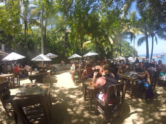 Lunch at Las Caletas