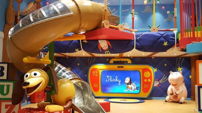 Andy's Room in the Oceaneer Club on the re-imagined Disney Wonder. Photo courtesy of Travel On A Dream.