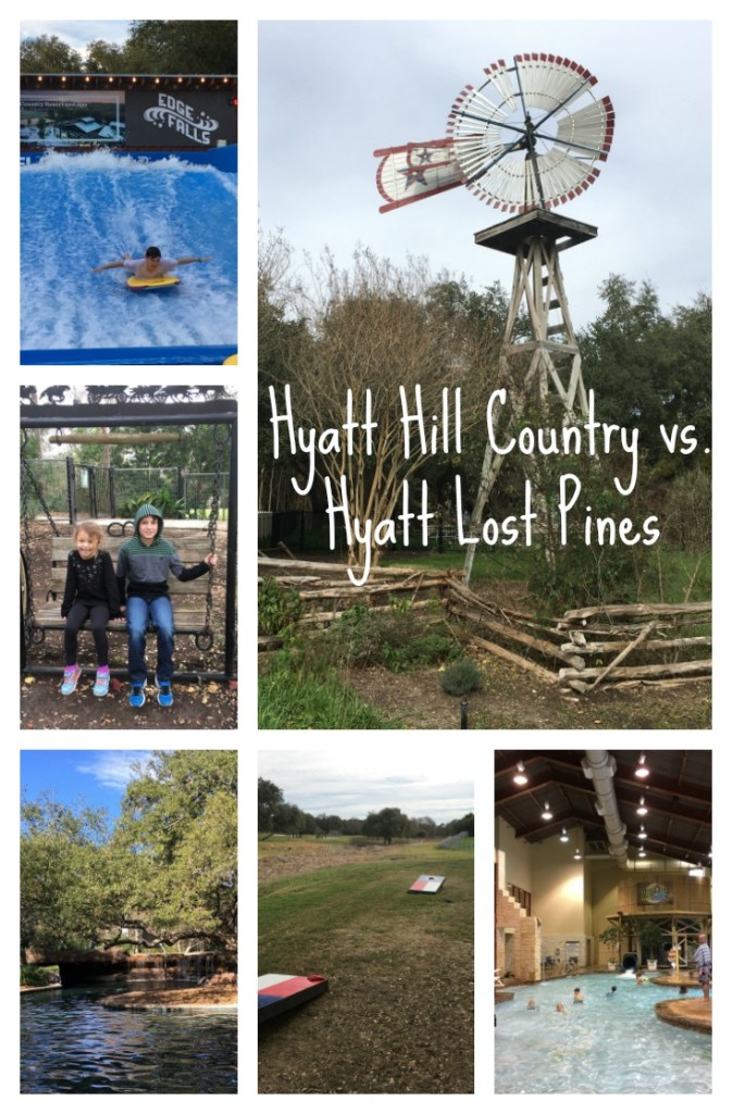 Hyatt Hill Country vs. Hyatt Lost Pines www.milesforfamily.com