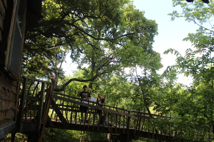 Unforgettable Night in Majestic Oak Treehouse at Savannah's Meadow