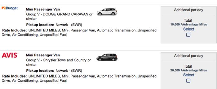 Using Aadvantage Miles For Car Rental