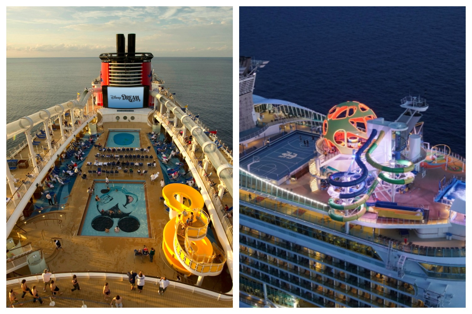 Cost Comparison Disney Cruise Line vs Royal Caribbean