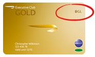 Gold Guest List Card
