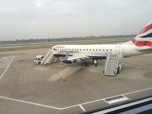 British Airways at London City