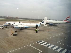 FlyBe at London City