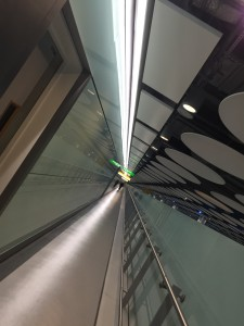 Dublin arrivals Corridor