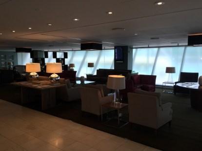 BA Concorde Room JFK - Seating
