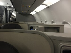 AA A321 First Class Seat