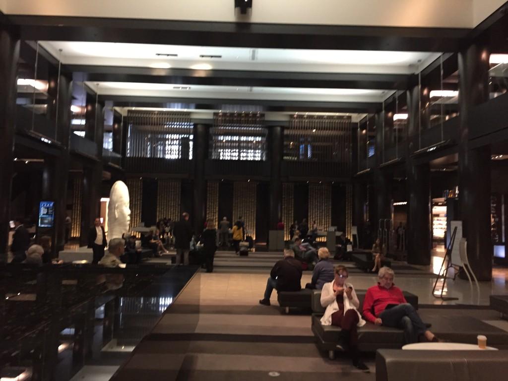 Grand Hyatt New York - Grand Club lobby