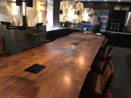 Inside Long Table