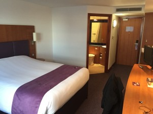 Premier Inn - Bedroom