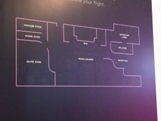 Aspire Lounge refurbishment plan