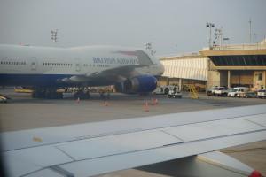 BA747 at JFK